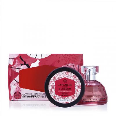 Комплект Japanese Cherry Blossom Strawberry Kiss Eau de Toilette AR19