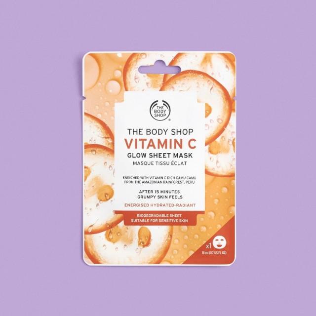 Шийт маска Витамин C