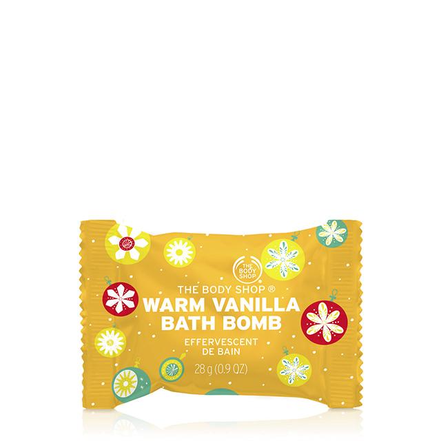 Бомбичка за вана Warm Vanilla