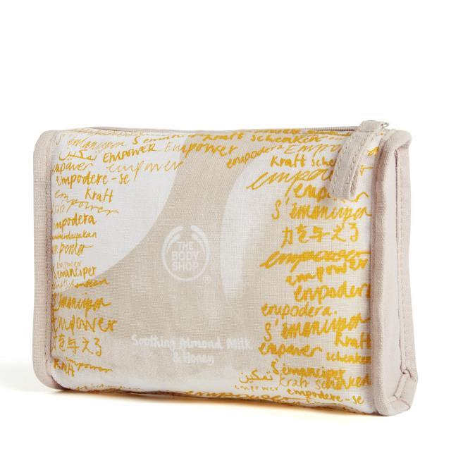 Комплект Бадемово мляко и мед в чантичка AR20