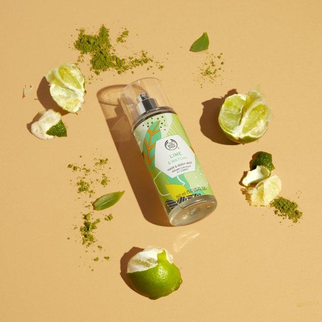 Спрей за коса и тяло Lime & Matcha