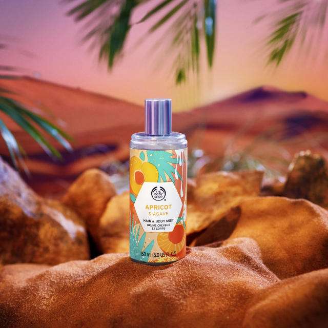 Спрей за коса и тяло Apricot & Agave