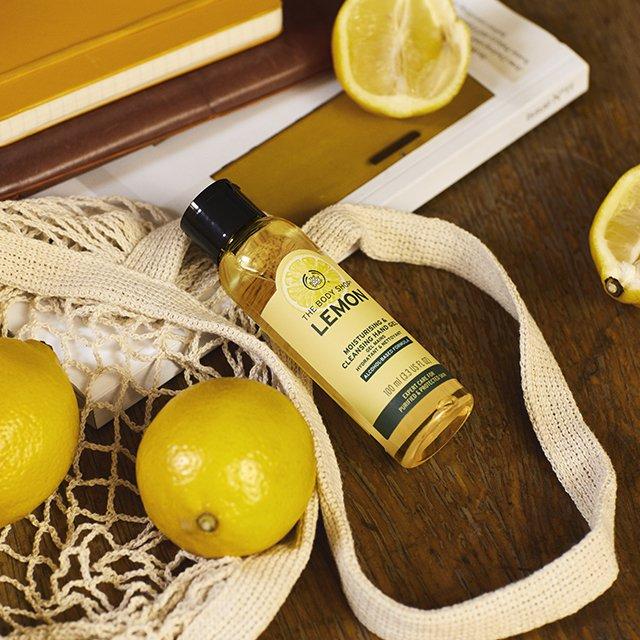 Антибактериален гел за ръце Лимон