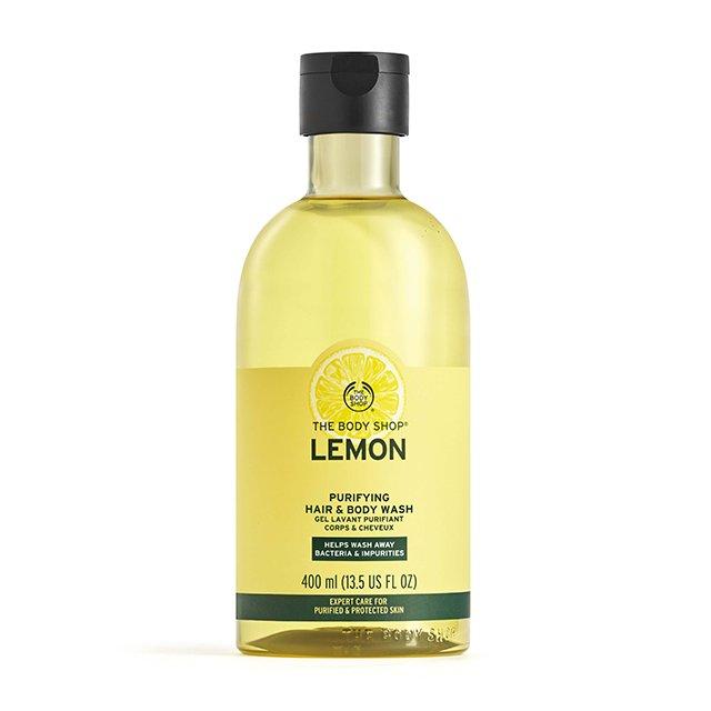 Душ гел и шампоан Лимон