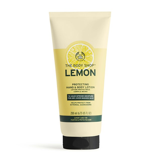 Лосион за ръце и тяло Лимон