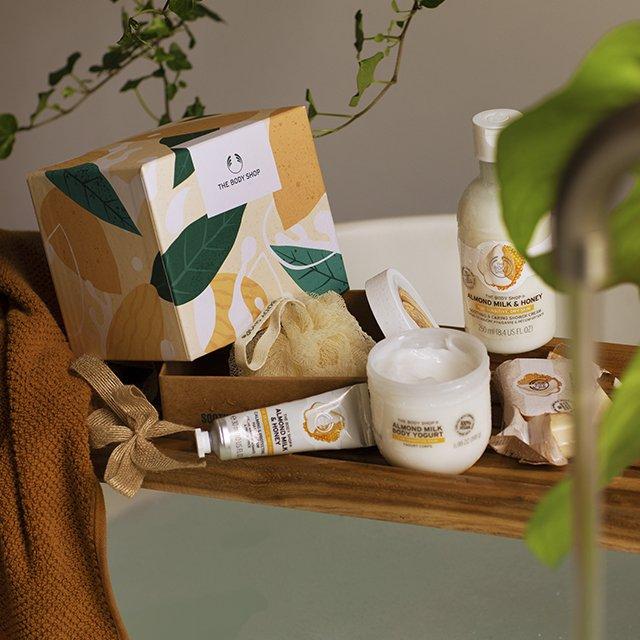 Комплект Бадемово мляко и мед Small AR21