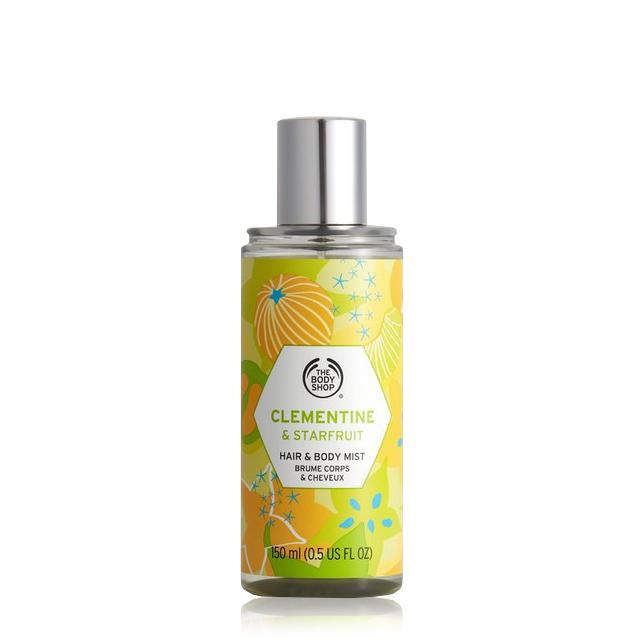 Спрей за коса и тяло Clementine & Starfruit