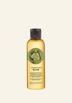 Подхранващо олио за коса и тяло Маслина