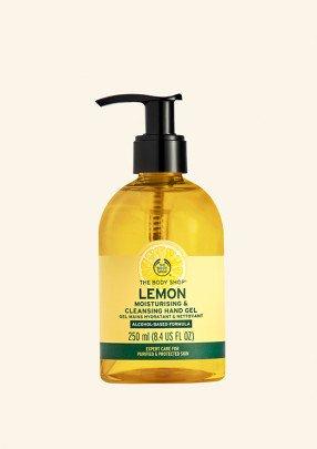 Почистващ гел за ръце Лимон