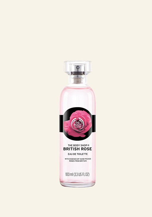 Тоалетна вода British Rose