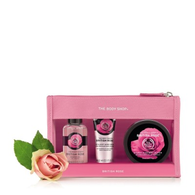 Комплект British Rose в чантичка