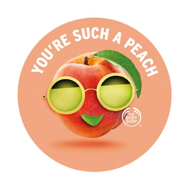Етикет Body Butter Peach AYR