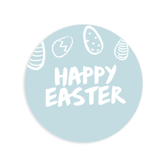 Етикет Body Butter Easter 1
