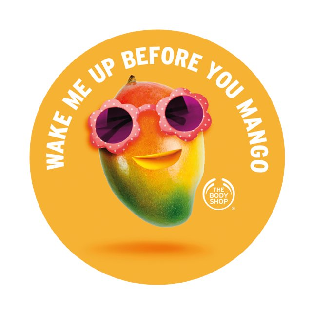Етикет Body Butter Mango AYR