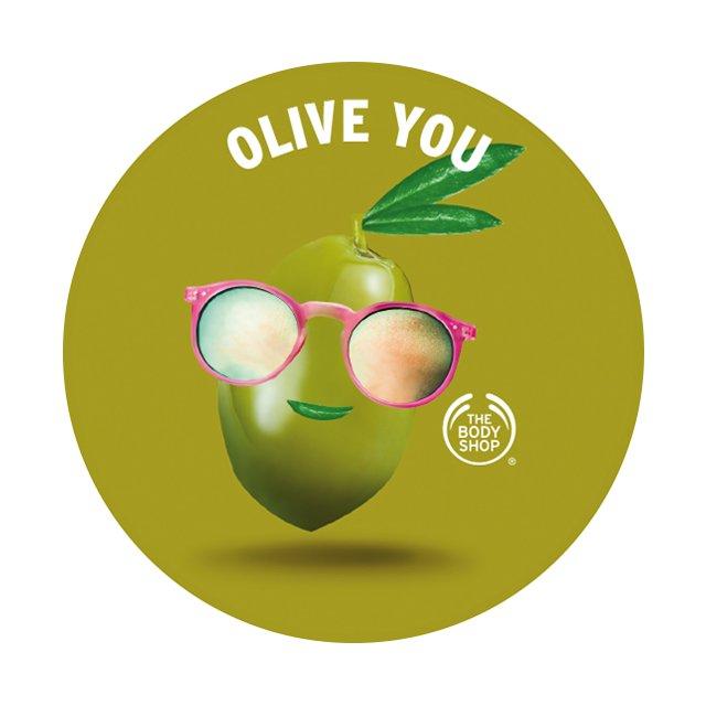 Етикет Body Butter Olive AYR