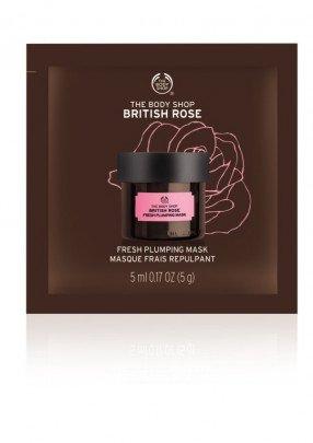Освежаваща маска за лице British Rose
