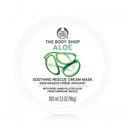 Успокояваща крем маска за лице с алое