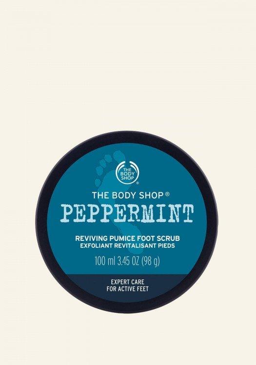 Ревитализиращ ексфолиант за крака Peppermint