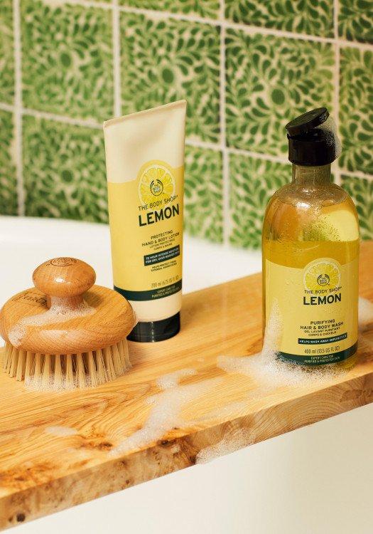 Почистващ гел за лице Лимон