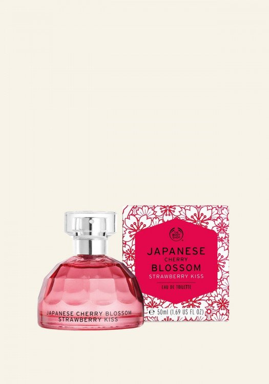 Тоалетна вода Japanese Cherry Blossom Strawberry Kiss
