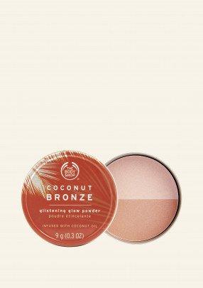 Бронзираща пудра с блясък Coconut Bronze