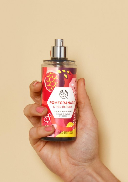 Спрей за коса и тяло Pomegranate & Red Berries