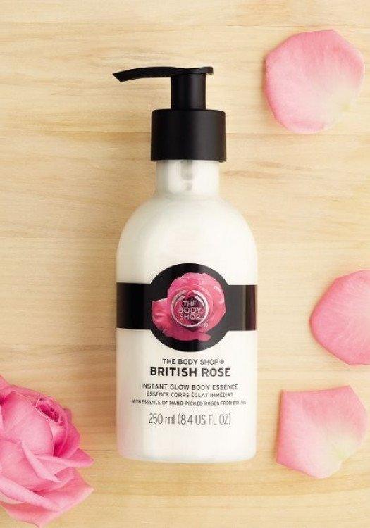 Лосион за тяло за блясък British Rose