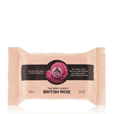 Ексфолиращ сапун British Rose