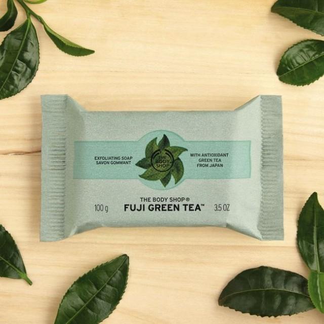 Ексфолиращ сапун Fuji Green Tea