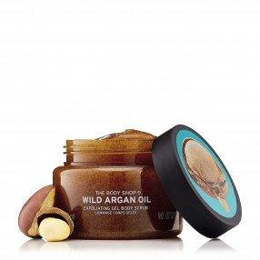 Ексфолиращ гел за тяло масло от Див арган