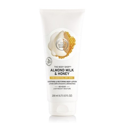 Успокояващ лосион за тяло Бадемово масло и мед