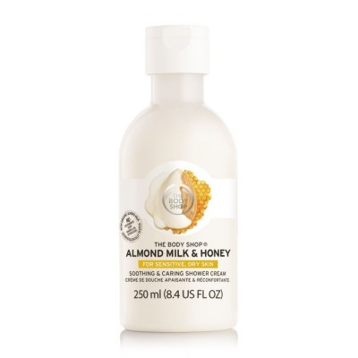 Успокояващ крем душ гел Бадемово мляко и мед