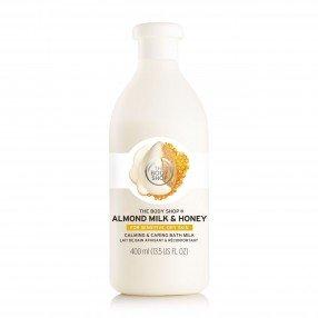 Успокояващо мляко за вана Бадемово мляко и мед