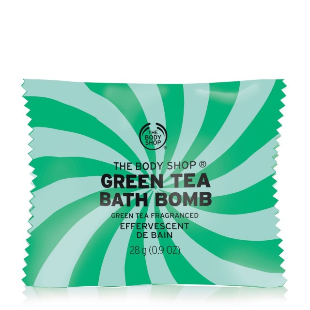 Бомбичка за вана Зелен чай