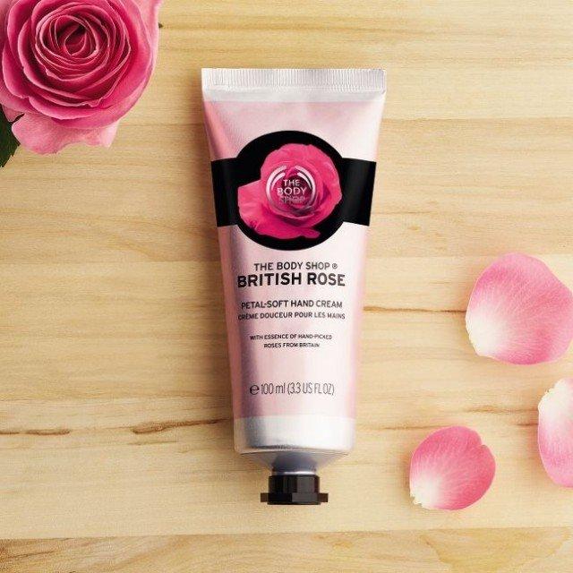 Крем за ръце British Rose