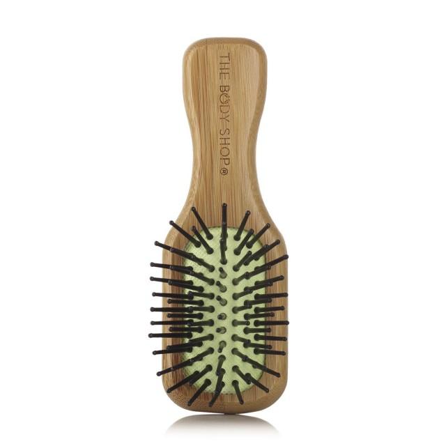 Малка бамбукова четка за коса