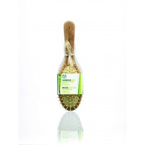 Овална бамбукова четка за коса