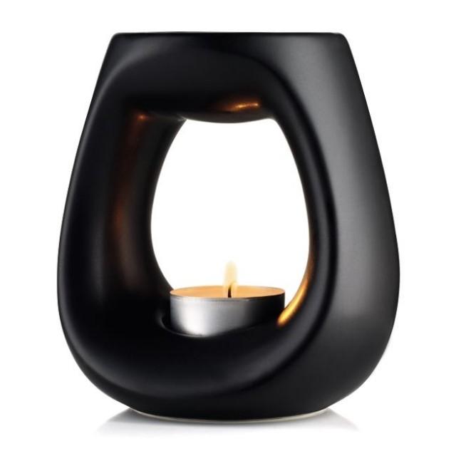 Арома лампа Wax melt черна