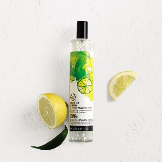 Ароматизиращ спрей за дома Зелен чай и лимон