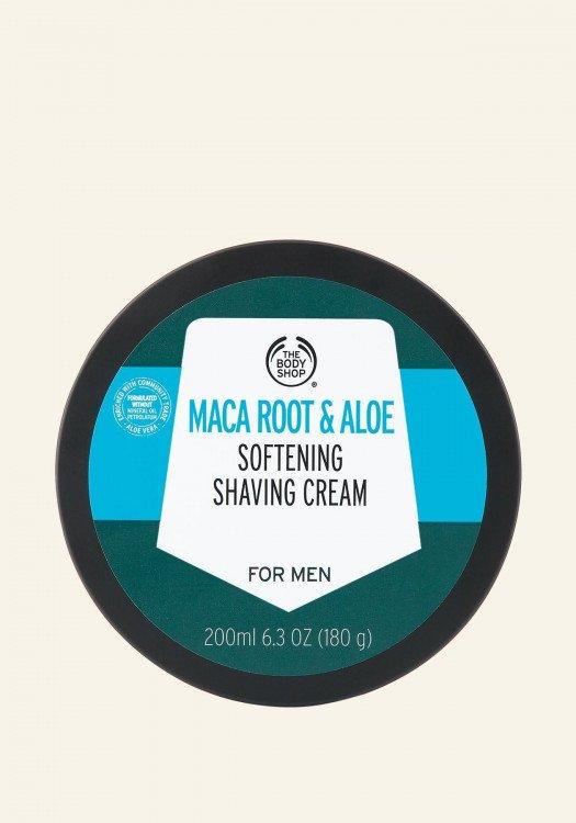 Крем за бръснене Maca Root & Aloe