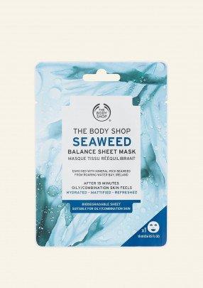 Шийт маска за лице Seaweed