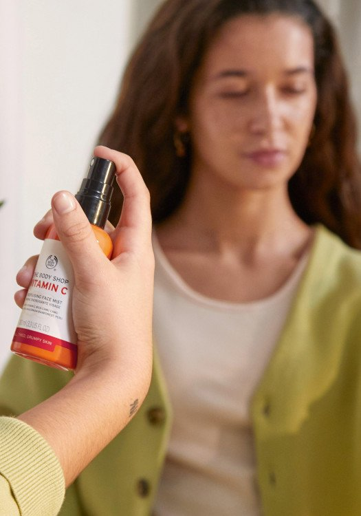 Спрей за лице Витамин С