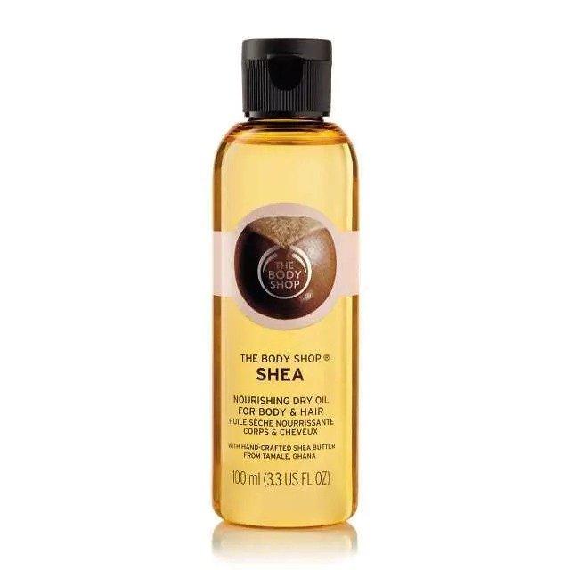 Подхранващо олио за коса и тяло Шеа